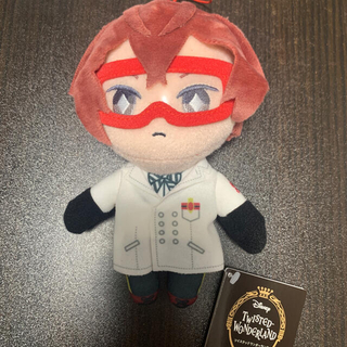ツイステ リドル ぬいぐるみ(キャラクターグッズ)