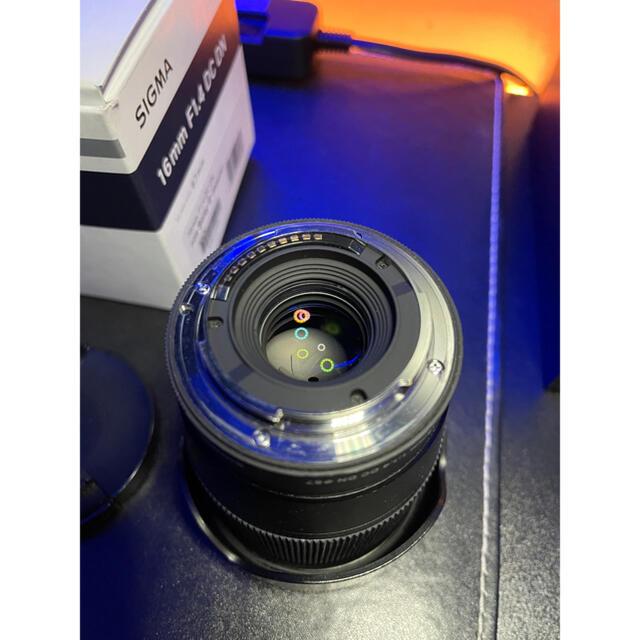 SIGMA(シグマ)のSIGMA 16mm F1.4 DC DN Contemporary ソニー用 スマホ/家電/カメラのカメラ(レンズ(単焦点))の商品写真