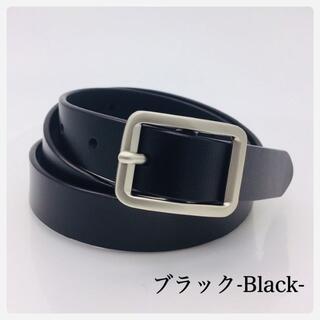 0003 ✨新品 レザーベルト ✨2.3cm 女性レディース ブラック