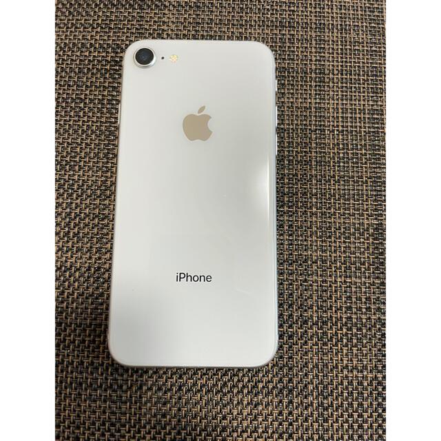 Apple(アップル)のiPhone8 256GB シルバー スマホ/家電/カメラのスマートフォン/携帯電話(スマートフォン本体)の商品写真
