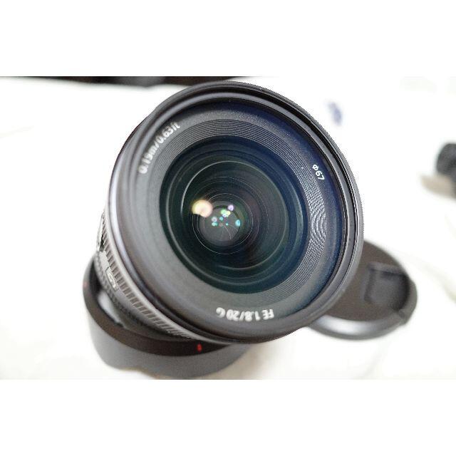 SONY(ソニー)の最安値 SEL20F18G スマホ/家電/カメラのカメラ(レンズ(単焦点))の商品写真
