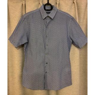 アバハウス(ABAHOUSE)のABAHOUSE 【MONTI】カラミチェックシャツ ギンガムチェック(シャツ)