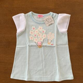 HOT BISCUITS - 新品 ミキハウス Tシャツ 半袖 90cm トップス 女の子 ホットB