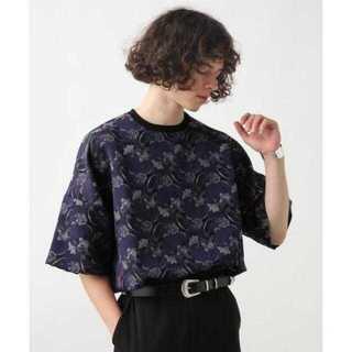 ハレ(HARE)のジャガード フラワー カットソー2(HARE)(Tシャツ/カットソー(半袖/袖なし))