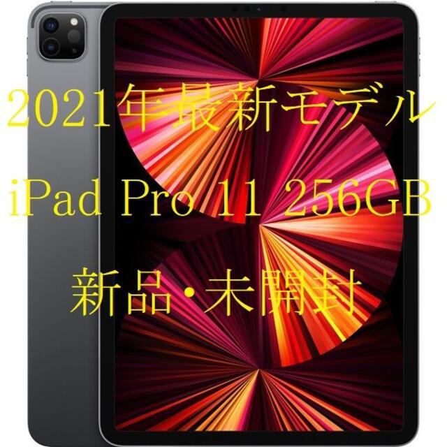 Apple(アップル)の2021最新モデル Apple 11 iPad Pro Wi-Fi 256GB スマホ/家電/カメラのPC/タブレット(タブレット)の商品写真