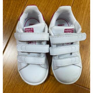 adidas - アディダス 子ども靴 スタンスミス