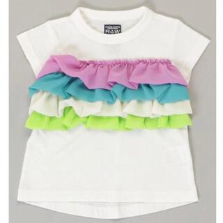 ラゲッドワークス(RUGGEDWORKS)のRUGGEDWORKS フリル tシャツ 100(Tシャツ/カットソー)