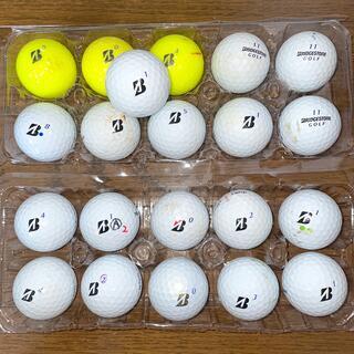 BRIDGESTONE - ブリヂストン ゴルフボール ロストボール 21個