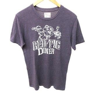 ウィルソン(wilson)のウィルソン 80S-90S Tシャツ 半袖 ヴィンテージ  プリント M紫 (Tシャツ/カットソー(半袖/袖なし))