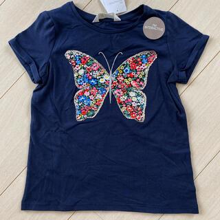 H&M - H&M Tシャツ 120/130 バタフライ スパンコール