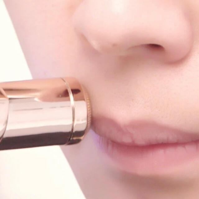 【新品・未使用】フェイスシェーバー ホワイト スマホ/家電/カメラの美容/健康(レディースシェーバー)の商品写真