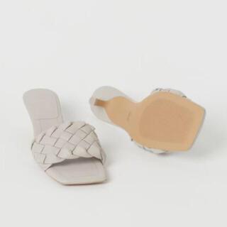 H&M - 6/19までお値下げ【完売品】H&M  ZARA GU 編み込み サンダル