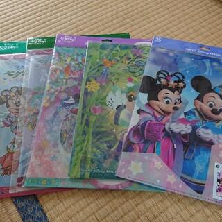 ディズニー(Disney)の【五枚セット】ディズニー七夕クリアファイル(クリアファイル)