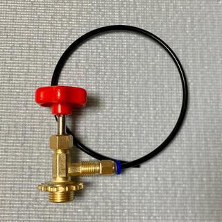 134a ガス 詰め替え バルブ ガンパワー ウッドランド サンダーシュート(カスタムパーツ)