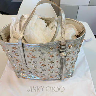 ジミーチュウ(JIMMY CHOO)の美品 ジミーチュウ SASHA/S  GTA/163(ハンドバッグ)