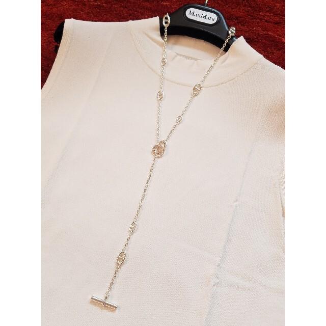 Hermes(エルメス)のHERMES シェーヌダンクル ファランドール ネックレス 80㎝ レディースのアクセサリー(ネックレス)の商品写真