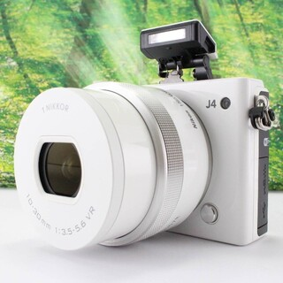 Nikon - Nikon ミラーレス一眼 Nikon1 J4 標準パワーズームレンズキット
