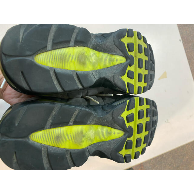 NIKE(ナイキ)の2012 NIKE AIR MAX 95 OG イエローグラデ US9.5  メンズの靴/シューズ(スニーカー)の商品写真