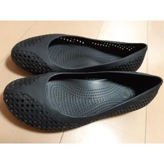 crocs - crocs 星柄 パンプス サンダル