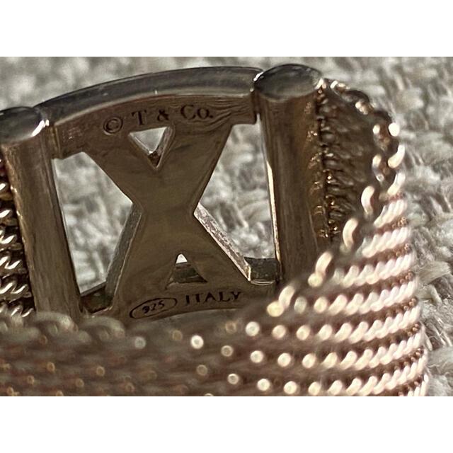 Tiffany & Co.(ティファニー)の希少アトラスメッシュリング 専用商品 レディースのアクセサリー(リング(指輪))の商品写真
