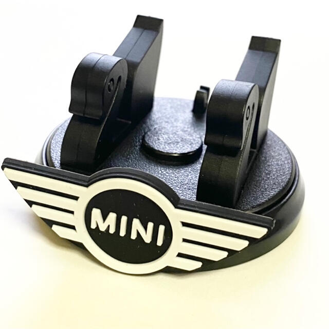 BMW(ビーエムダブリュー)のBMW MINI ミニクーパー スタンド型 車載用 携帯ホルダー 360℃回転式 自動車/バイクの自動車(車内アクセサリ)の商品写真