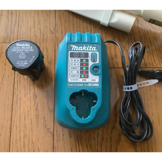 Makita(マキタ)のマキタ コードレスクリーナー CL100D スマホ/家電/カメラの生活家電(掃除機)の商品写真