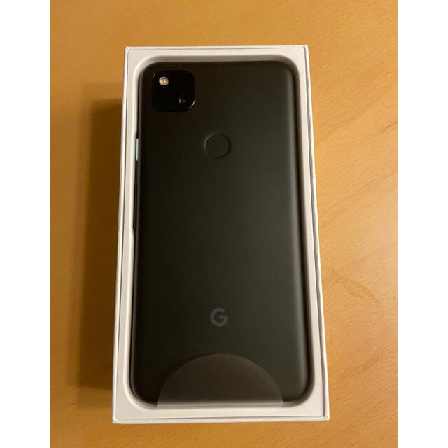 Google Pixel(グーグルピクセル)の【新品未使用】【送料無料】Google pixel4a BK 128GB スマホ/家電/カメラのスマートフォン/携帯電話(スマートフォン本体)の商品写真