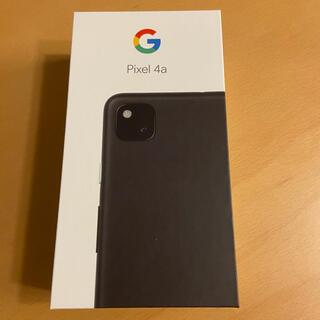 Google Pixel - 【新品未使用】【送料無料】Google pixel4a BK 128GB
