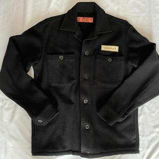 TENDERLOIN - 超希少 テンダーロイン cpo シャツ ジャケット ウール 黒 S  ワッペン