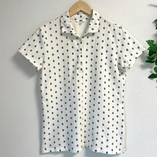 UNIQLO - UNIQLO*XL 北欧風 ポロシャツ レディース