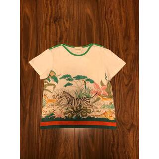 グッチ(Gucci)のグッチ バーバリー   Tシャツ ボタニカル柄 動物柄 90  100(Tシャツ/カットソー)