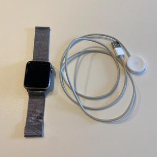 アップル(Apple)のApple Watch 3 美品 42mm GPSモデル(その他)