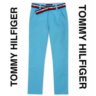 トミーヒルフィガー(TOMMY HILFIGER)のカラーパンツ ジーンズ デニムパンツ ジーパン ブルー 新品 トミーヒルフィガー(チノパン)