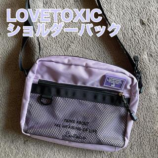 lovetoxic - ラブトキ😃ショルダーバック LOVETOXIC