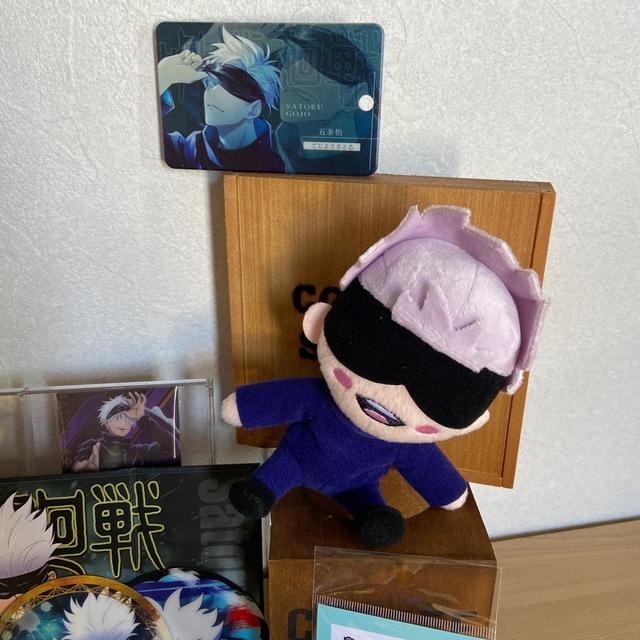 集英社(シュウエイシャ)の五条悟セット エンタメ/ホビーのおもちゃ/ぬいぐるみ(キャラクターグッズ)の商品写真