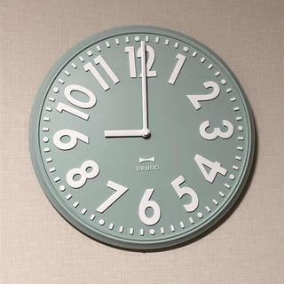 イデアインターナショナル(I.D.E.A international)の【BRUNO】エンボスウォールクロック ライトブル(掛時計/柱時計)