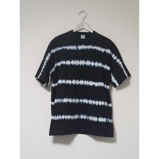 エディフィス(EDIFICE)のEDIFICE タイダイ ボーダー Tシャツ(Tシャツ/カットソー(半袖/袖なし))