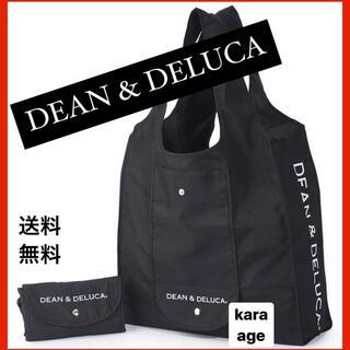 DEAN&DELUCA エコバッグ ショッピング 折りたたみ ブラック
