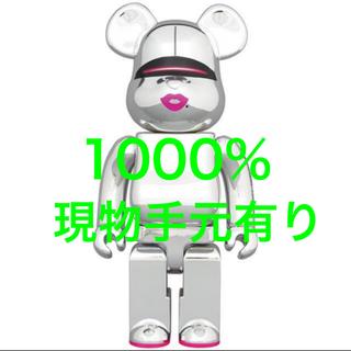 メディコムトイ(MEDICOM TOY)のBE@RBRICK SORAYAMA SILVER 2G 空山基 1000%(その他)