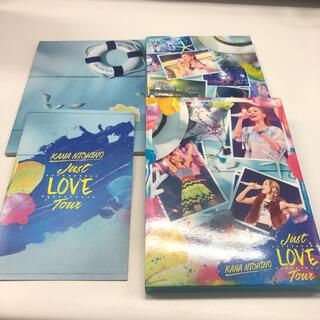 ソニー(SONY)のJust LOVE Tour(初回生産限定盤) DVD(ミュージック)