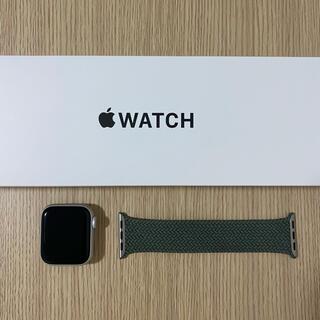 Apple Watch SE 本体 GPSモデル アップルウォッチシルバー