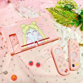 ニンテンドースイッチ(Nintendo Switch)の美少女戦士セーラームーン 月野うさぎ Switch ソフトカバー RM05(その他)
