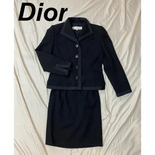 Christian Dior - Christian Dior ディオール セットアップ スーツ スカート 黒