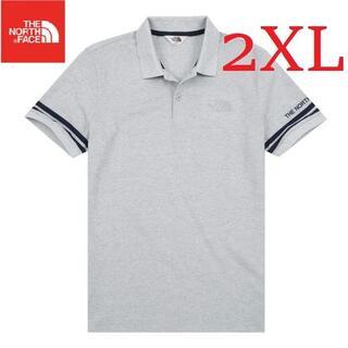ザノースフェイス(THE NORTH FACE)の1着限り❗海外☆ ノースフェイス ポロシャツ メンズ 夏 2XL K127E(ポロシャツ)
