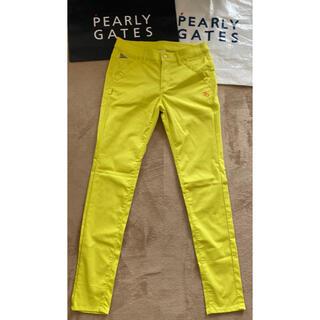 PEARLY GATES - 入手困難パーリーゲイツ30年限定ストレッチツイル パンツ レディスサイズ2