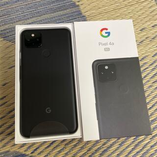 Google Pixel - Google  pixel 4a 5G 128GB ブラック