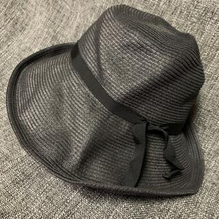 ヒューマンウーマン(HUMAN WOMAN)の折り畳めるペーパーハット(麦わら帽子/ストローハット)