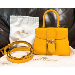 Hermes - 【DELVAUX】デルヴォー brillant mini バッグ calf 黄色