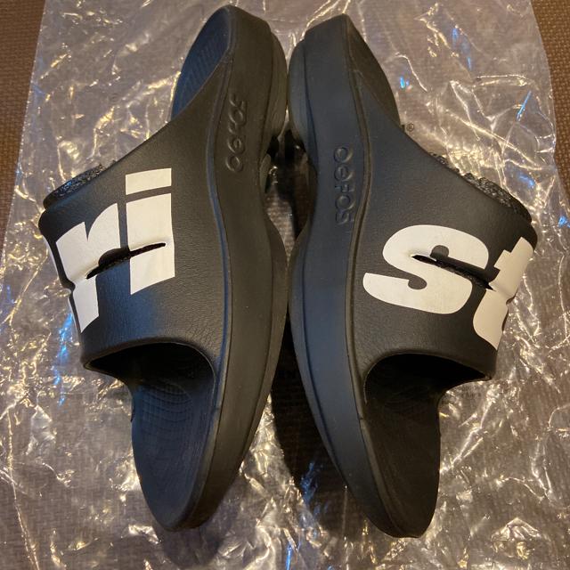 F.C.R.B.(エフシーアールビー)のF.C.Real Bristol 27 OOFOS Ooahh BLACK 黒 メンズの靴/シューズ(サンダル)の商品写真