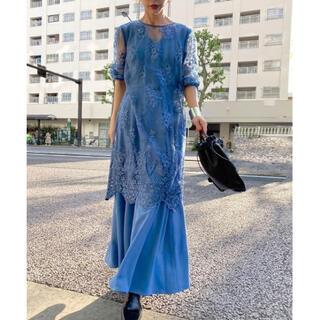 Ameri VINTAGE - Ameri VINTAGE 3WAY LAYERED LACE DRESS